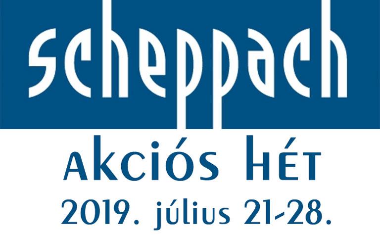 Scheppach akciós hét az Albaszerszámnál!